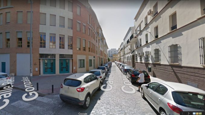aparcamiento, calle Antonio García corona,