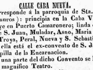 Cava Nueva, calle Puerto,
