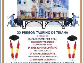 XX Pregón Taurino Triana