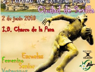 Cartel I torneo Rugby playa sevilla_grande