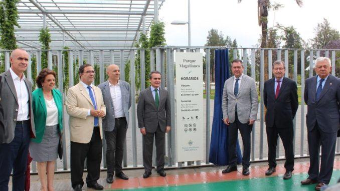 Inauguración parque Magallanes