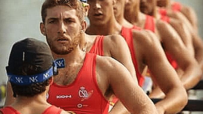 Jaime Rodríguez, remero