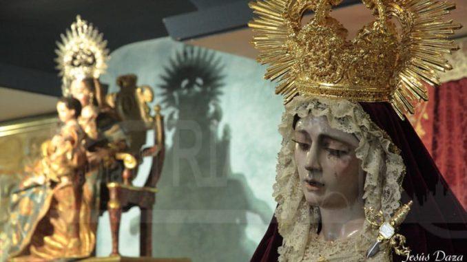 Besamanos, Nuestra Señora del Desconsuelo y Visitación