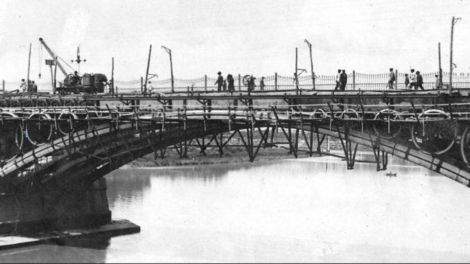 Tablero, Obras de sustitución, puente de Triana
