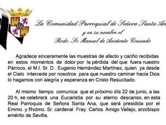 Eucaristía D. Eugenio