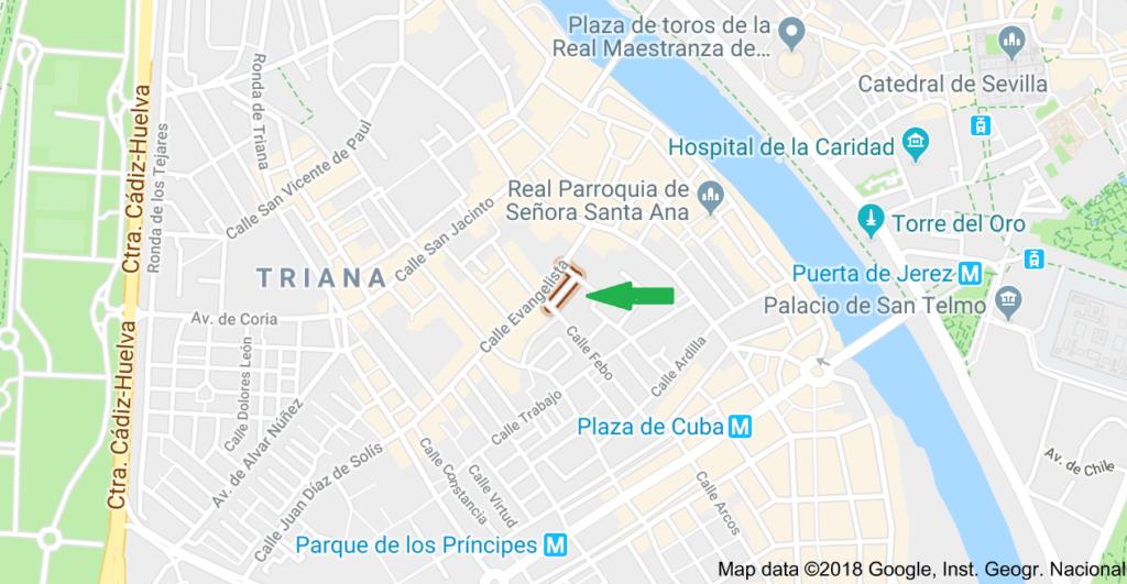 calle, Dr Félix Rodríguez de la Fuente,Triana (Sevilla)