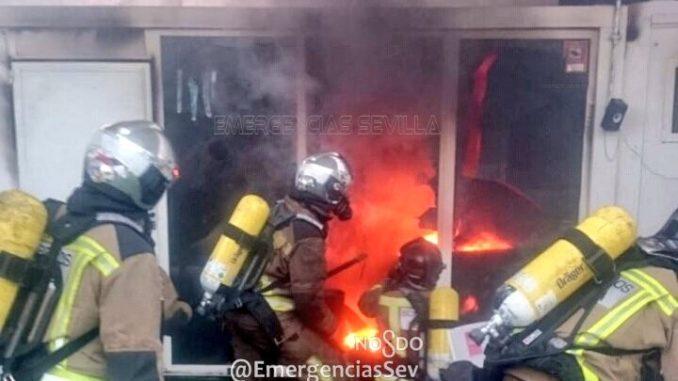 incendio Centro Deportivo, Ronda de Triana