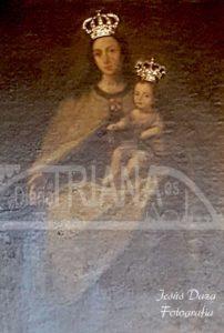 Cuadro Virgen del Carmen. Puente de Triana