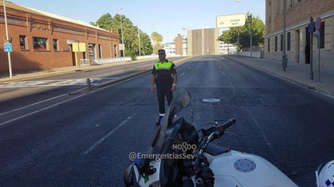 Puente de las Delicias cortado hasta septiembre