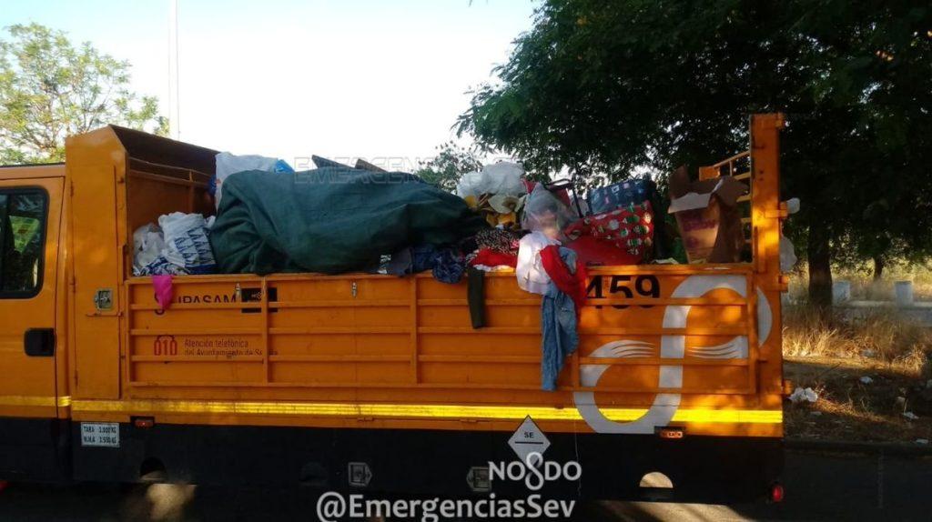 Retirada de basuras, Charco de la Pava, venta ilegal,
