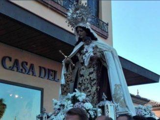 Traslado Virgen del Carmen Puente Triana