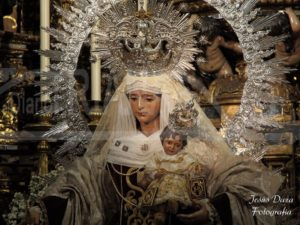Virgen del Carmen en la Parroquia de la O