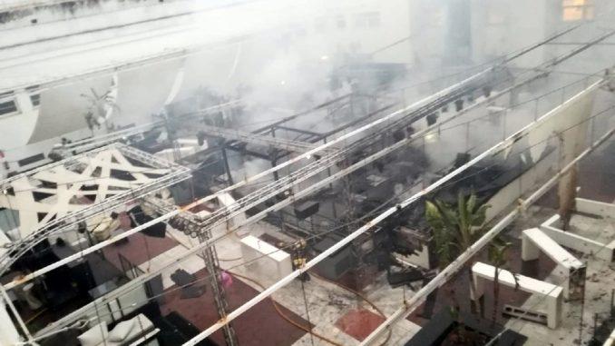 Incendio, discoteca, La Cartuja