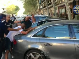 estafadores croatas, policía local