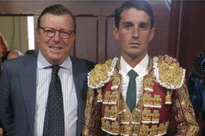 Cesar y su hijo, Alfonso Cadaval