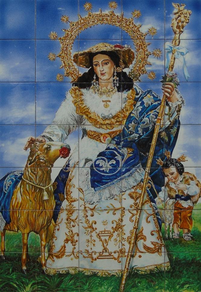 Retablo Divina Pastora de las Almas, Triana