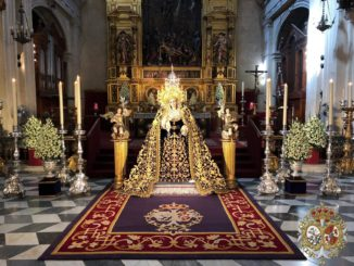 Besamanos, Virgen de la Victoria