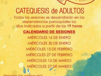 Catequesis adultos Parroquia San Jacinto