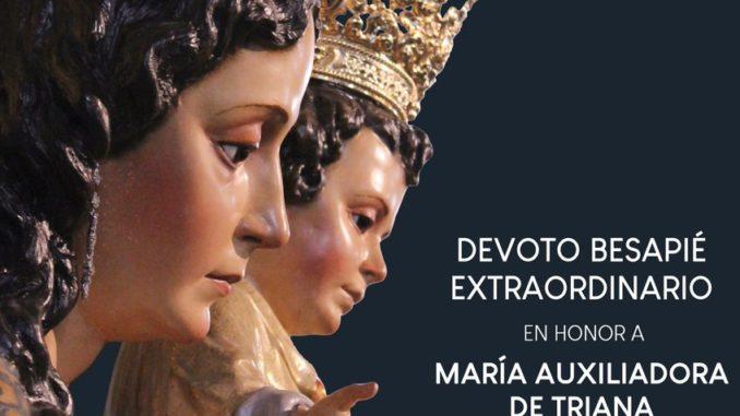 Besapie extraordinario Sentaita, María Auxiliadora