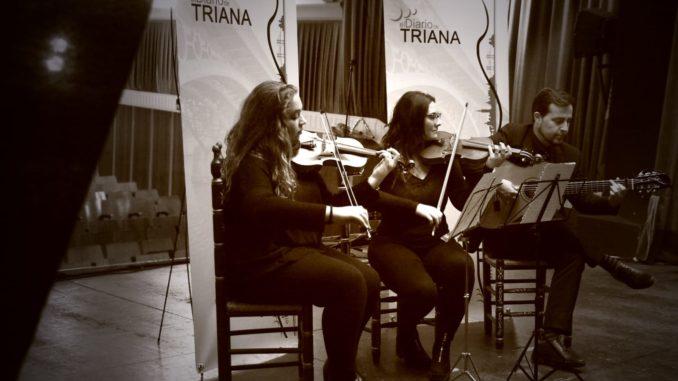Fernando Larios Violines Claudia Alcántara y Laura Carmona