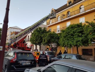 incendio en bar calle Betis 2019