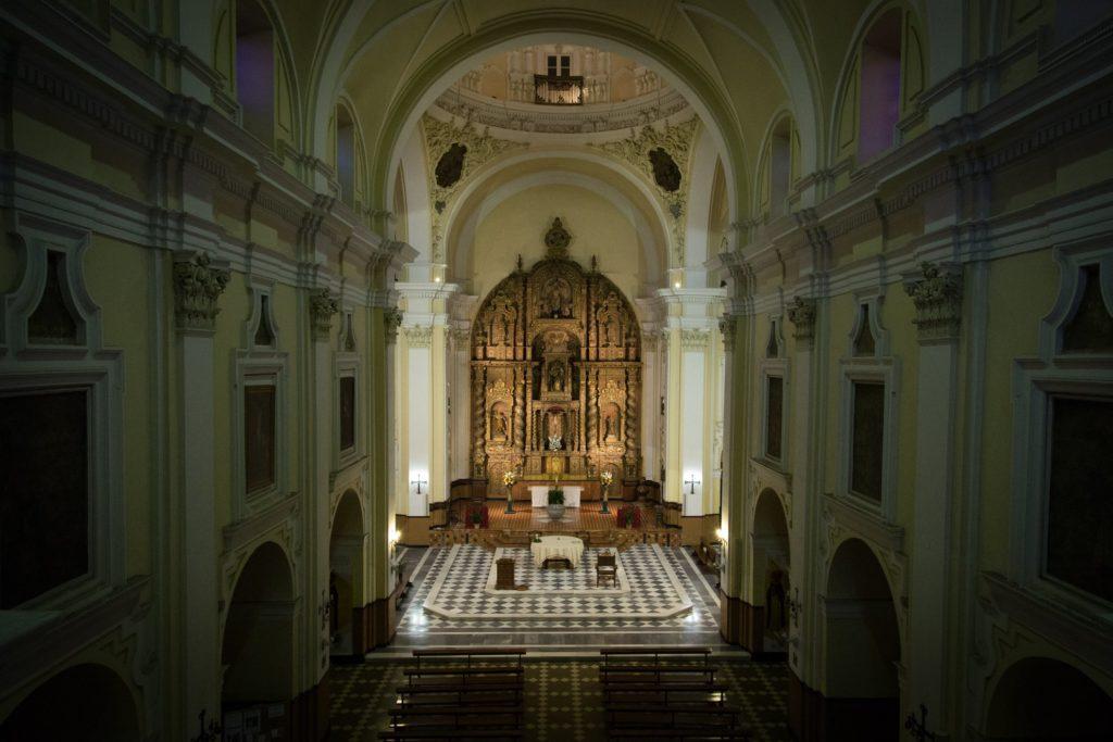 Parroquia San Jacinto, templo