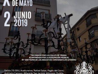 Cartel Cruz de Mayo Hermandad Estrella 2019