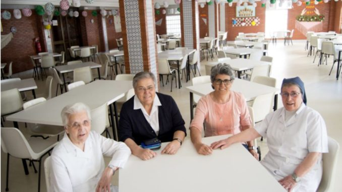 Hijas de la Caridad, comedor social, Triana