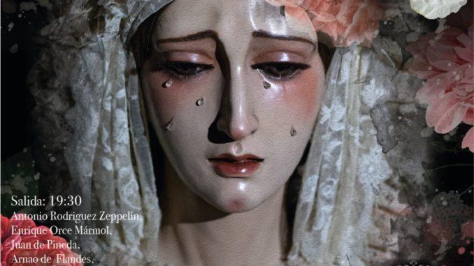 Cartel salida procesional_2019 Nuestra Señora del Consuelo, Triana