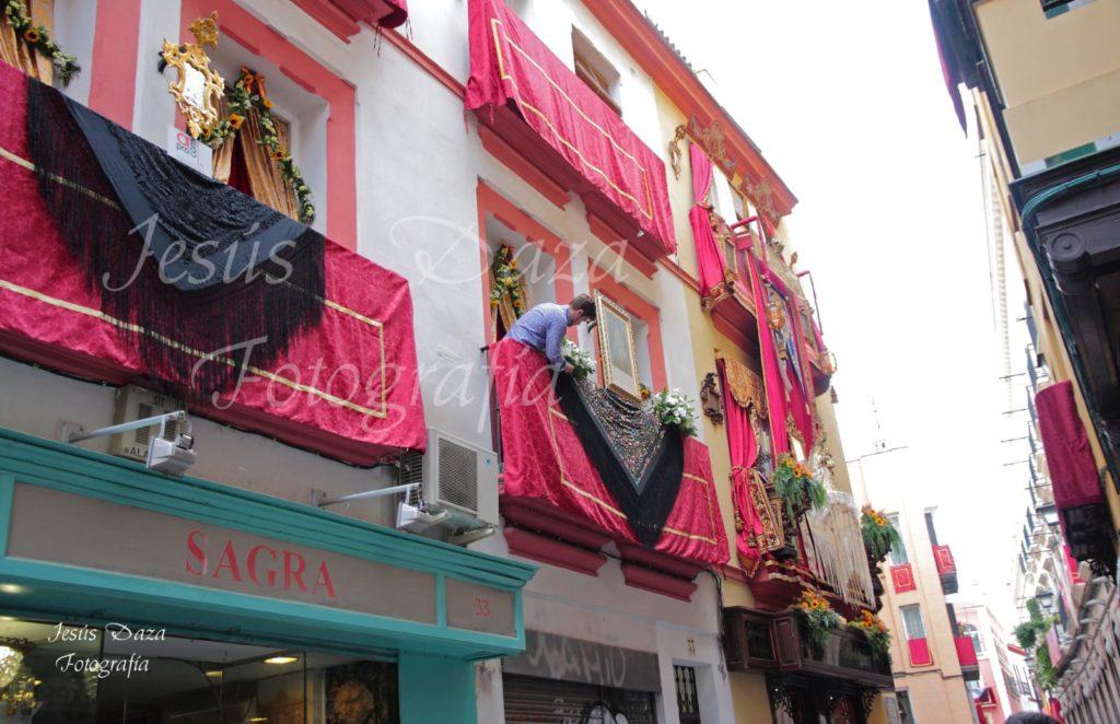Corpus Christi balcón