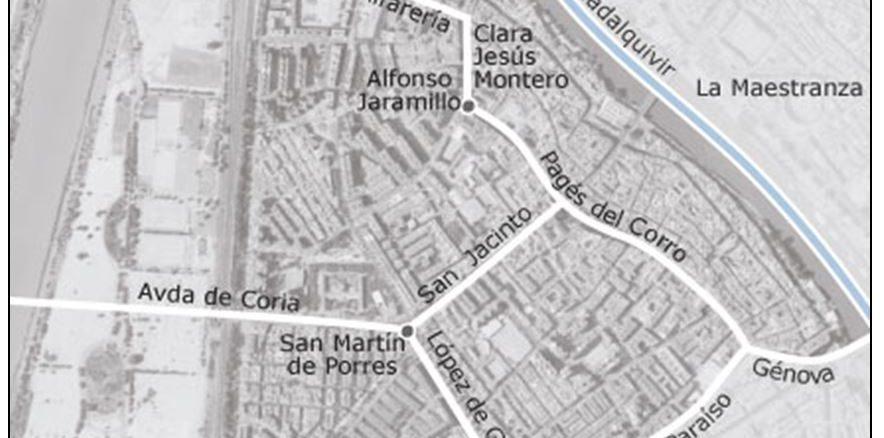 calles y plazas de Triana