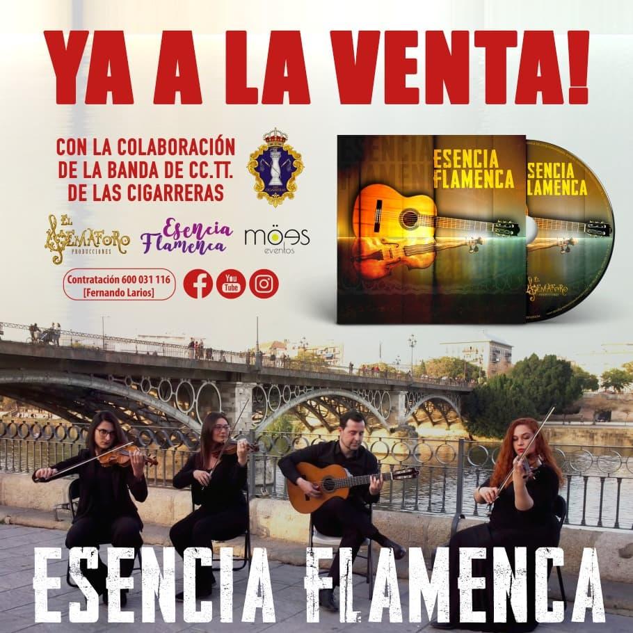 Disco, Fernando Larios, Esencia Flamenca,