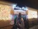 Navidad, luces, mercado de Triana