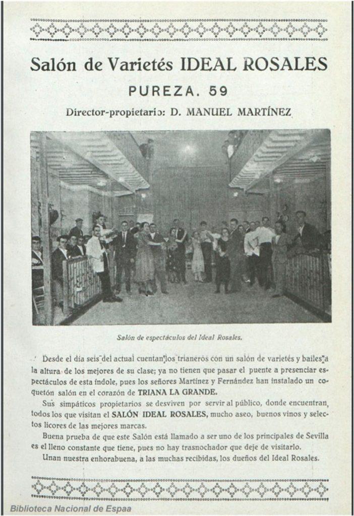 SALÓN DE VARIETÉS EN TRIANA
