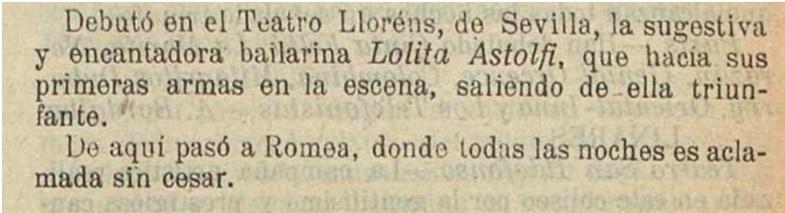 Lolita Astolfi