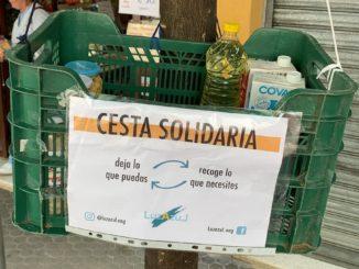 Cestas Solidarias Luz Azul
