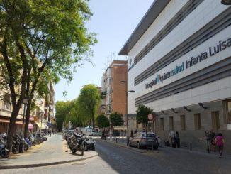 Hospital Infanta Luisa antigua Cruz Roja de Triana